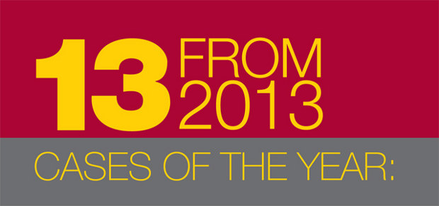 13 from 2013: cases of the year