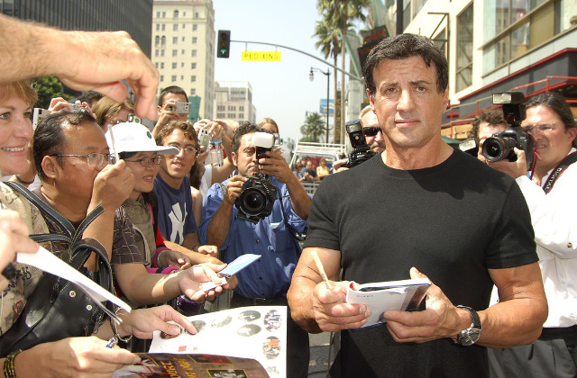 Sylvester Stallone welcomes arrest of UK man
