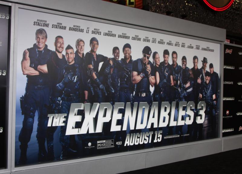Two arrested over Expendables 3 film leak